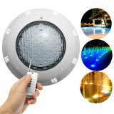 3000LM 30W 12V LED RGB Swimming Pool Light Multi-Color Underwater Remote Control Bright Light Swimming Pool Searchlight