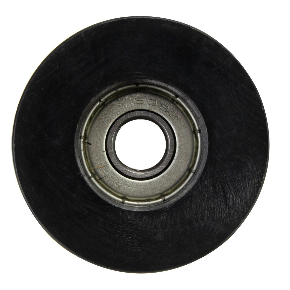 2Pcs 8mm U Trough Ball Bearing 0840UU Guide Pulley Sealed Rail Ball Bearing 8*40*20.7mm