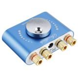 XY-KA50L 50W+50W Stereo bluetooth 5.0 +AUX+ U Disk+ USB Power Amplifier Board Speaker Audio Amplifier Support APP Control DC 8-24V