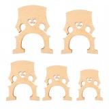 NAOMI Cello Bridge Exquisite Stripe Maple Wood Professional Cello Accessories And Parts