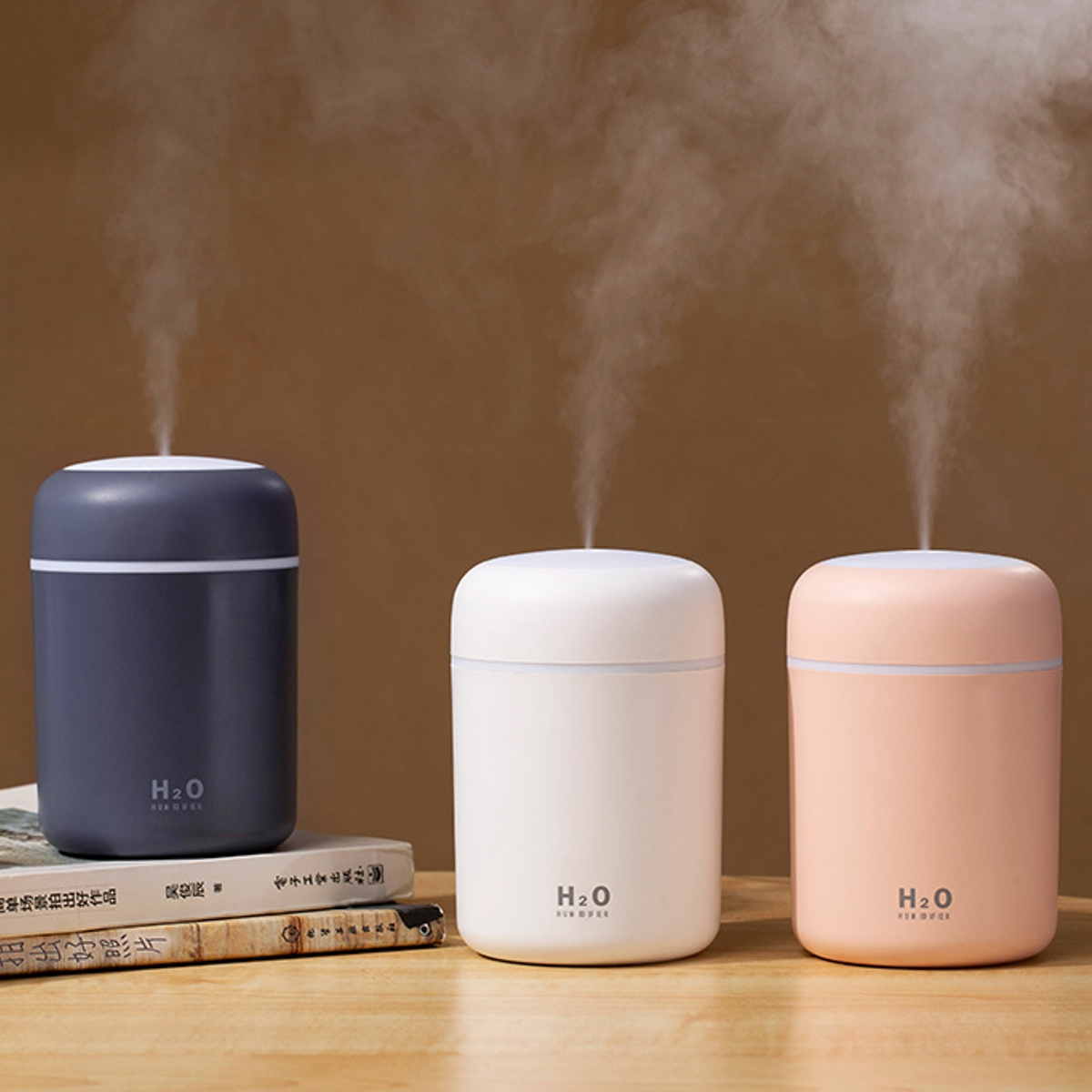 300ml Ultrasonic Electric Air Aroma Diffuser Humidifier 2 Modes LED Night Light for Home Office