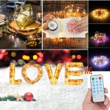 5M/10M/20M Music Activated LED String Light Waterproof Outdoor Fairy Lamp Party Halloween Christmas Tree Garden Decor