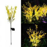 Outdoor Solar Lawn Light Canola Flowers Waterproof Garden Light Led Solar Powered Lights for Garden Patio Yard Decoration