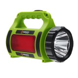 3500LM 1500M Long Shoot LED Search Light With Side Lights & Warning Light 6000mAh Phone Powerbank Outdoor Work Lamp Flashlight