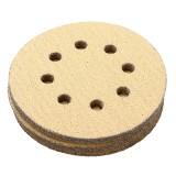 Drillpro 100pcs 5 Inch 60/80/120/150/240 Grit Sanding Discs 125mm 8 Holes Sandpaper Sanding Polishing Pad