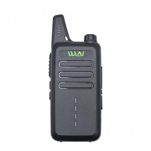 Mini WLN KD-C1E Walkie Talkie 2W 16 CH 400-470MHz UHF Handheld Two Way Radio Toy Comunicador Walkie-talkie