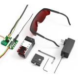 NEJE 40W Laser Module 11Pcs/Set NEJE Laser Module 2 In 1 Adjustable Variable Focus Lens and Fixed Focal Modified Laser Air Assist For Laser Engraver Machine Laser Cutter 3D Printer CNC Millling