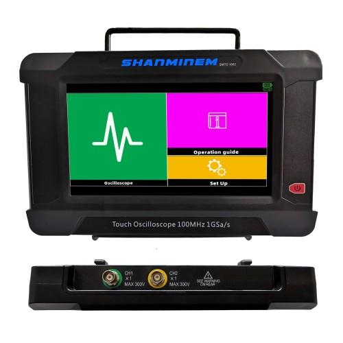 SMT01002 Dual Channel Oscilloscope 100M Bandwidth SMT01002S Dual Channel Oscilloscope + Single Channel Signal Generator