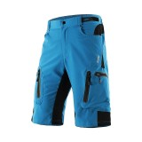 ARSUXEO Men's Cycling MTB Shorts Bike Baggy Shorts Breathable Quick Dry Waterproof Zipper Sports Pants
