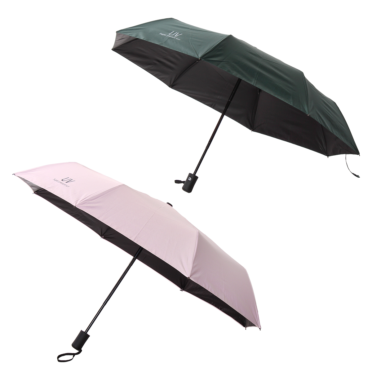Automatic Folding Umbrella Windproof UV Resistance Waterproof 8 Bone Umbrella Outdoor Camping Travel