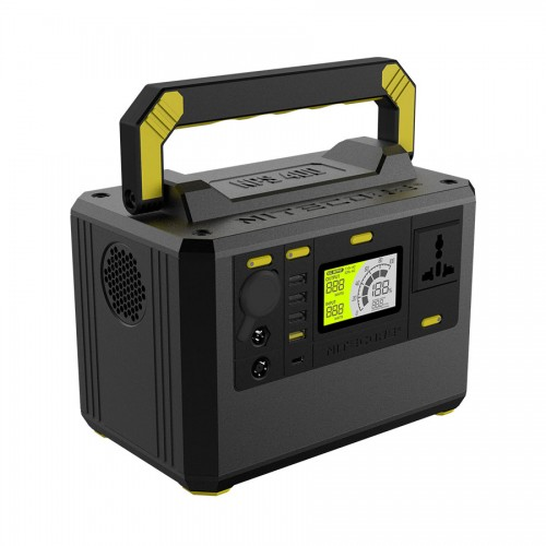 NITECORE NPS400 117AH 117000mAh 220V 300W Portable Power Station With LCD Display 18650 Battery Power Source Outdoor Hunting Camping Generator