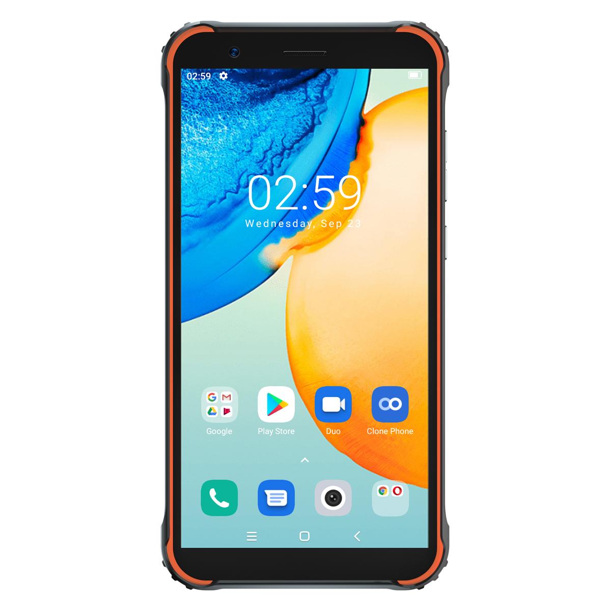 Blackview BV4900 Pro Global Version IP68&IP69k Waterproof 5.7 inch NFC Android 10 5580mAh 4GB 64GB Helio P22 Octa Core 4G Rugged Smartphone