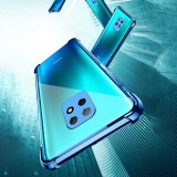 Bakeey for Xiaomi Redmi Note 9S / Redmi Note 9 Pro Case 2 in 1 Plating with Airbag Lens Protector Ultra-Thin Anti-Fingerprint Shockproof Transparent Soft TPU Protective Case