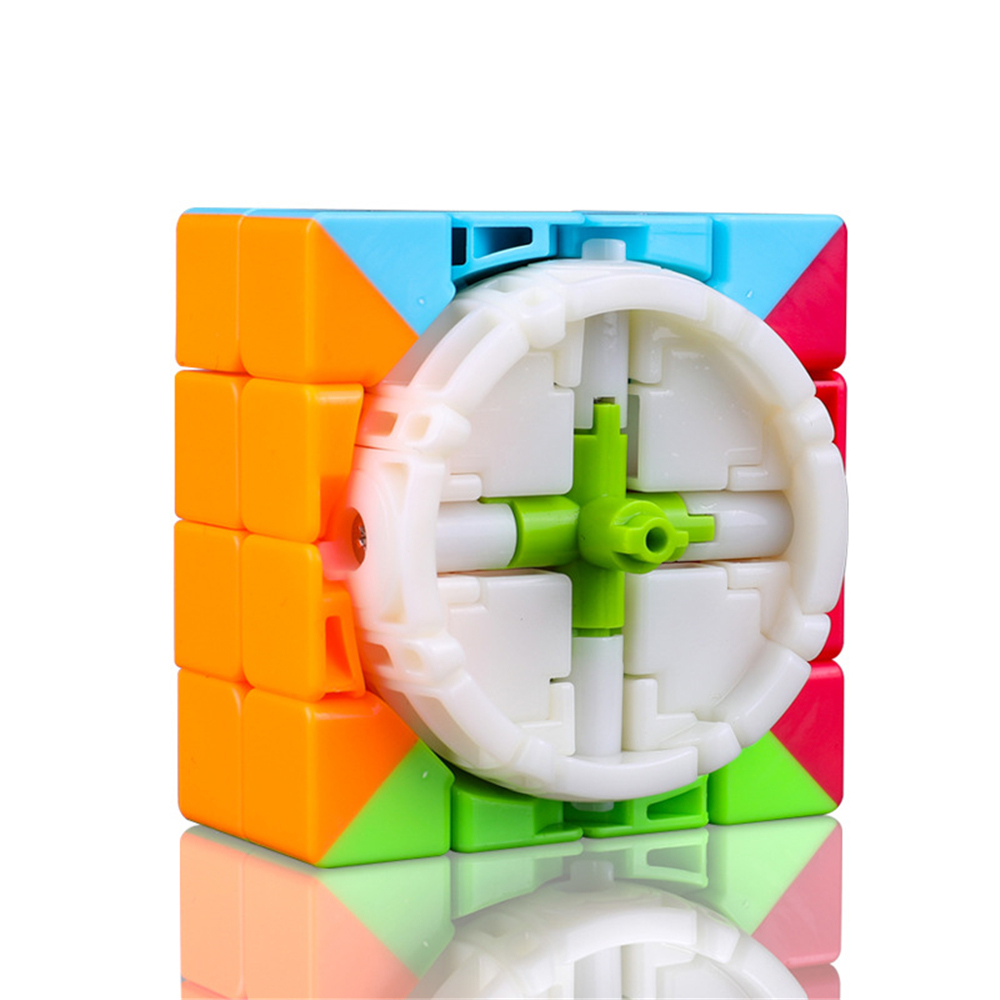 Qiyi 4*4*4 Magic Cube Touch Professional Beginner Speed Game Magic Cube Early Educational Puzzle Toy for Children Adult
