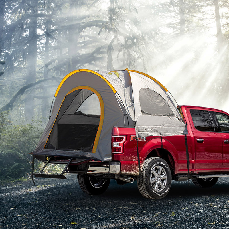 IPRee 5.5ft Truck Tent Compact Truck Camping Tent Easy-to-Set Tent Suitable For Travel Camping 1 - 2 Person Tent