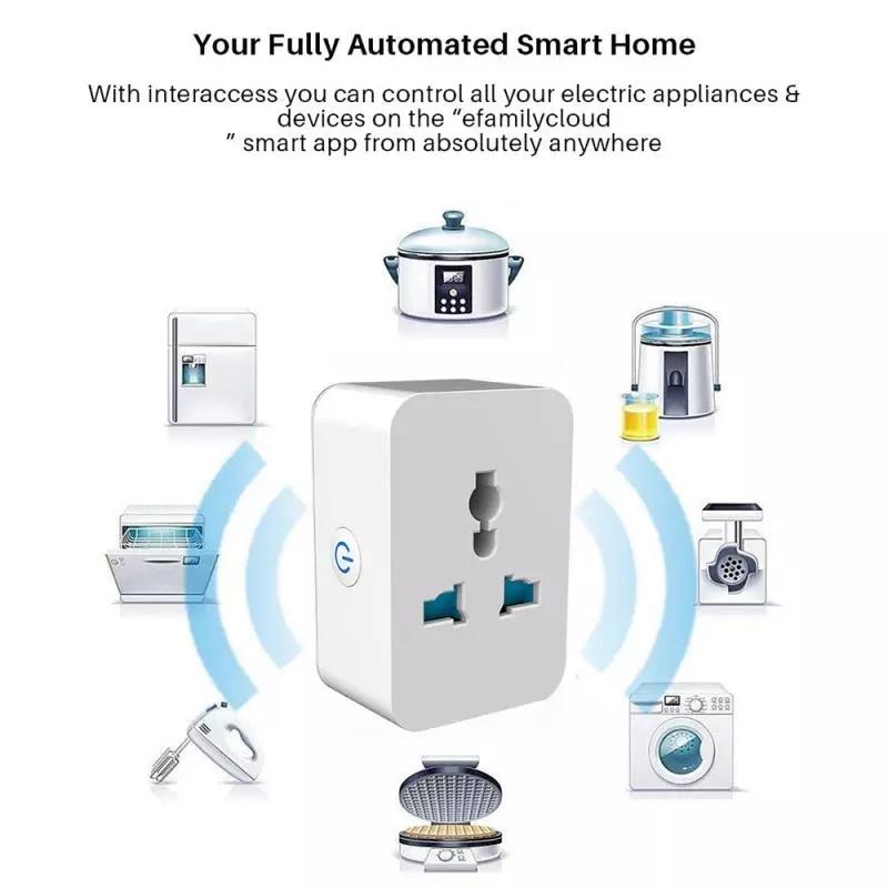 Hot Universal Smart Home Power Socket Plug Basic Wireless WiFi APP Remote Control Timer Switch Powercube US EU UK AU Adapter