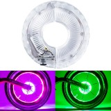 XANES Optical/Vibration Sensor RGB LED Bicycle Wheel Lights Flash Light Neon Lamp Cover Wheel For Kids Balance Bikes Mountain Road Bike