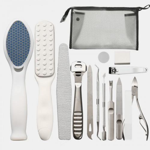 14 Pcs Exfoliating Foot File Set Nano Foot File Remove Callus Professional Pedicure Foot Care Tool