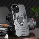 Bakeey for iPhone 12 Pro Max Case Armor Shockproof Magnetic with 360 Rotation Finger Ring Holder Stand PC Protective Case