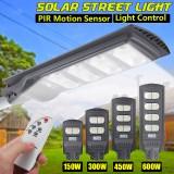 AUGIENB Solar Powered 140/280/420/560LED Street Light PIR Motion Radar Sensor Waterproof Outdoor Garden Lamp