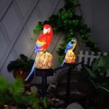Solar Power LED Lawn Light Parrot Outdoor Waterproof Landscape Lamp Garden Decor