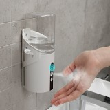 320mL Wall Mounted Automatic Soap Dispenser Spray Liquid Soap Dispenser Infrared Sensor Touchless Hand Sanitizer Machine