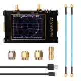 S-A-A-2 NanoVNA V2 50kHz – 3GHz 3.2 Inch Large Screen 3G Vector Network Analyzer S-A-A-2 NanoVNA V2 Antenna Analyzer Shortwave HF VHF UHF Measure Duplexer Filte