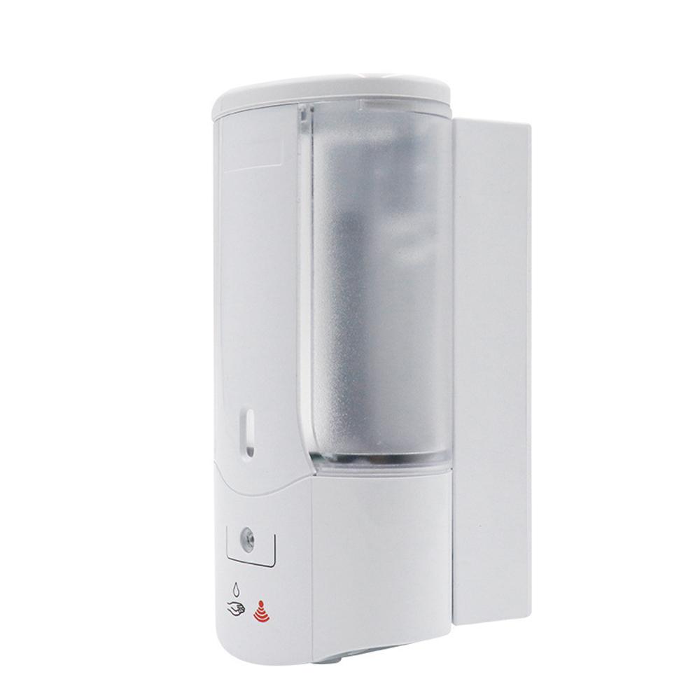 400ML Wall Mounted Automatic Soap Dispenser Hand Sanitizer Dispenser Smart IR Sensor Touchless Detergent Liquid Soap Dispenser for Kitchen Bathroom Hospital