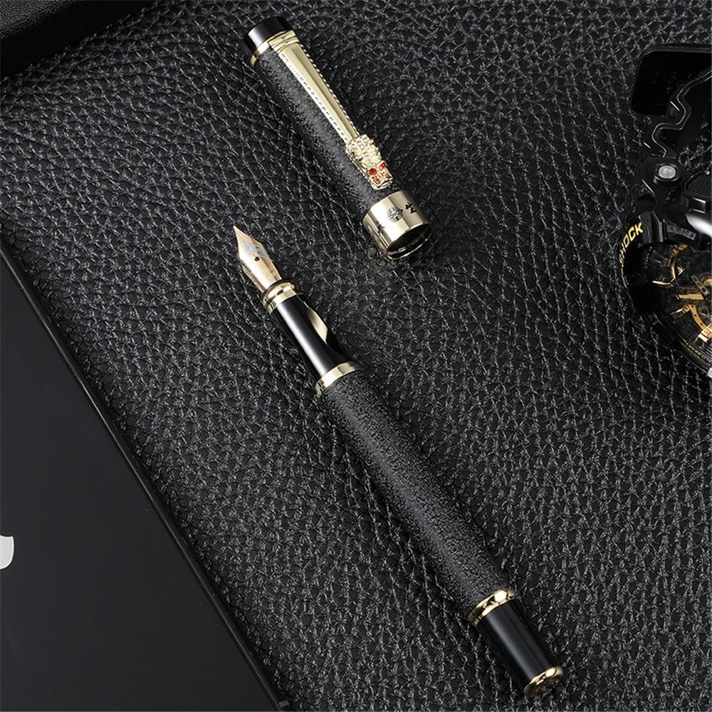 Yongsheng 1116 Metal Fountain Pen 0.5MM Dragon Head Pen Business Office Signature Pen Student Calligraphy Pen
