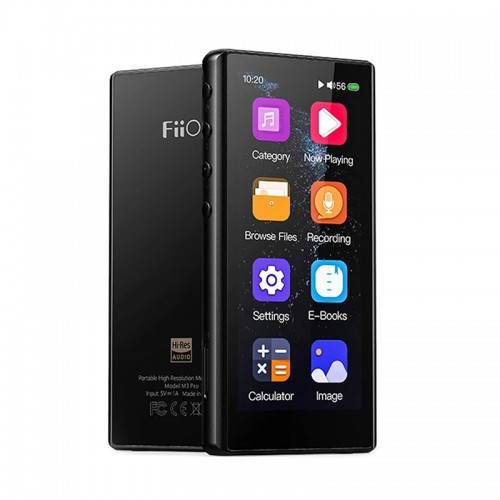 FiiO M3 Pro ES9218P Lossless MP3 Player HiFi USB DAC Music Player 3.5 inch HD Touch Screen Support Resume Mode Gapless Play