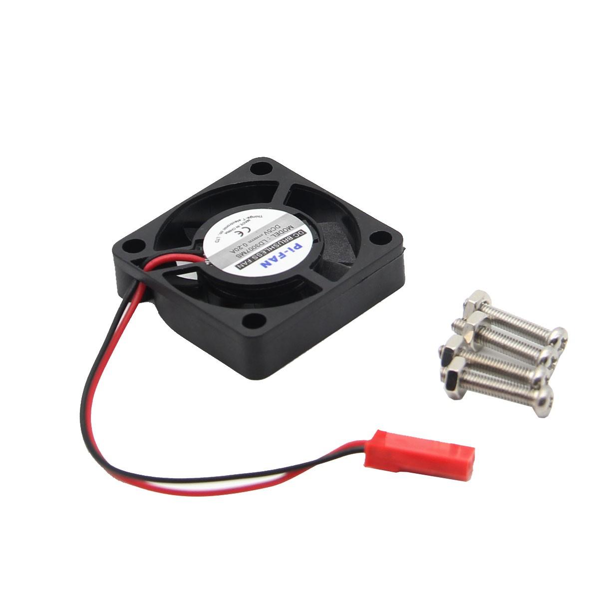 Catda 2GB RAM Raspberry Pi 4B + Cover Box + Power Supply + 32/64GB Memory Card +Micro HDMI DIY Kit