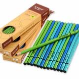 NYONI N-2801 12pcs/box Drawing Charcoal Pencil Set Soft Medium Hard Painting Set Sketch Painting Stationery School Students Supplies