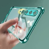 Bakeey 2 in 1 Airbag Plating Lens Protect Ultra-Thin Anti-Fingerprint Shockproof Transparent Soft TPU Protective Case for Xiaomi Mi10 Mi 10