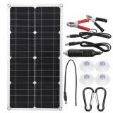 18V 250W Semi-flexible Solar Panel for Outdoor Power Generation System Parking Shed Electric Car
