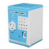 Electronic Piggy Bank ATM Password Money Box Fingerprint Coin Money Saving Box Deposit Banknote Children Birthday Gifts