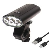 BIKIGHT 3*T6 LED 750 Lumen Bicycle Headlight 3000mAh USB Charging Head Torch For Outdoor Cycling MTB Road Bike Lights