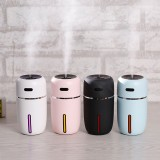 Mini Desktop Ultrasonic Humidifier Aroma Diffuser USB Charing LED Air Purifier for Home Office Car