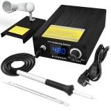 Handskit T12 Soldering Station Infrared Soldering Station Portable BGA Rework Station with Soldering Tips Welding Tools