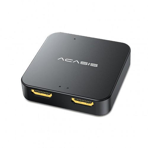 ACASIS HDMI Converter 1 in 2 out Connector HD 4K 3D Splitter 1080P Video Converter HD32