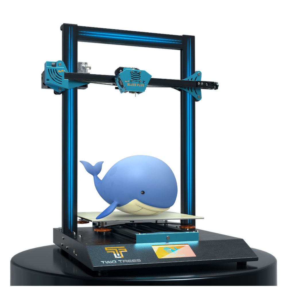 TWO TREES Bluer PLUS New Version 3D Printer Kit 300*300*400mm Printing Area with TMC2209/MKS Robin Nano/Power Resume/Filament Detect Support Auto Leveling