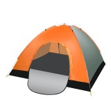 IPRee 3-4 Person Double Door Automatic Instant Camping Tent Double Layer Waterproof Tent For Hiking Travelling