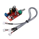 AD828 Operational Amplifier Preamplifier Board Single Power Supply with Volume Potentiometer