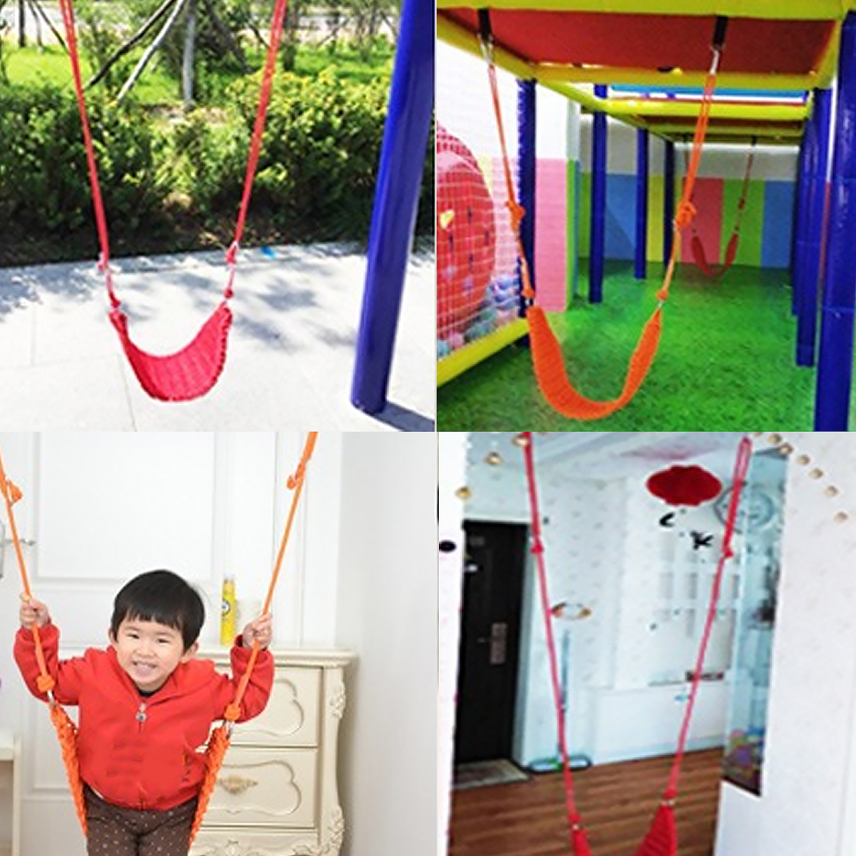 Baby Weaving Swing Net Chair Hang Hammock Chair Indoor Outdoor Kids Swing Outdoor Indoor Max Load 200kg