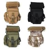 Nylon Tactical Waist Bag Military Belt Buckle Pouches Storage Bag Leg Bag Outdoor Hunting Climbing
