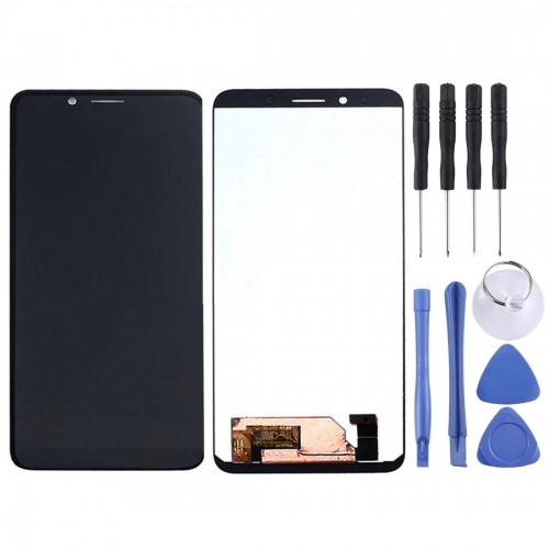 LCD Screen and Digitizer Full Assembly for Doogee S58 Pro
