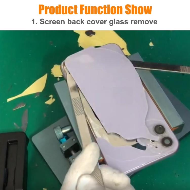 XHZC-125 360 Degrees Rotating Multifunction PCB Fixture Mainboard Repair Holder + 4 in 1 Metal Crowbar Set