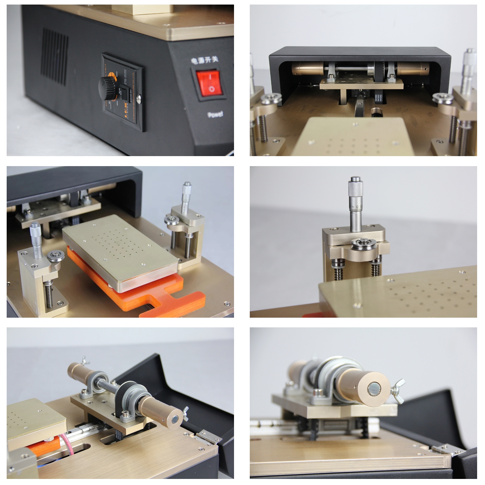 TBK958 Aluminum Alloy LCD Screen Automatic Separation Machine Built-in Temperature Control Chip For 7 inch Mobile Phone