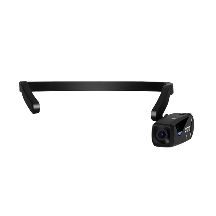 ORDRO EP5 WIFI APP Live Video Smart Head-Mounted Sports Camera With Remote Control (Black)