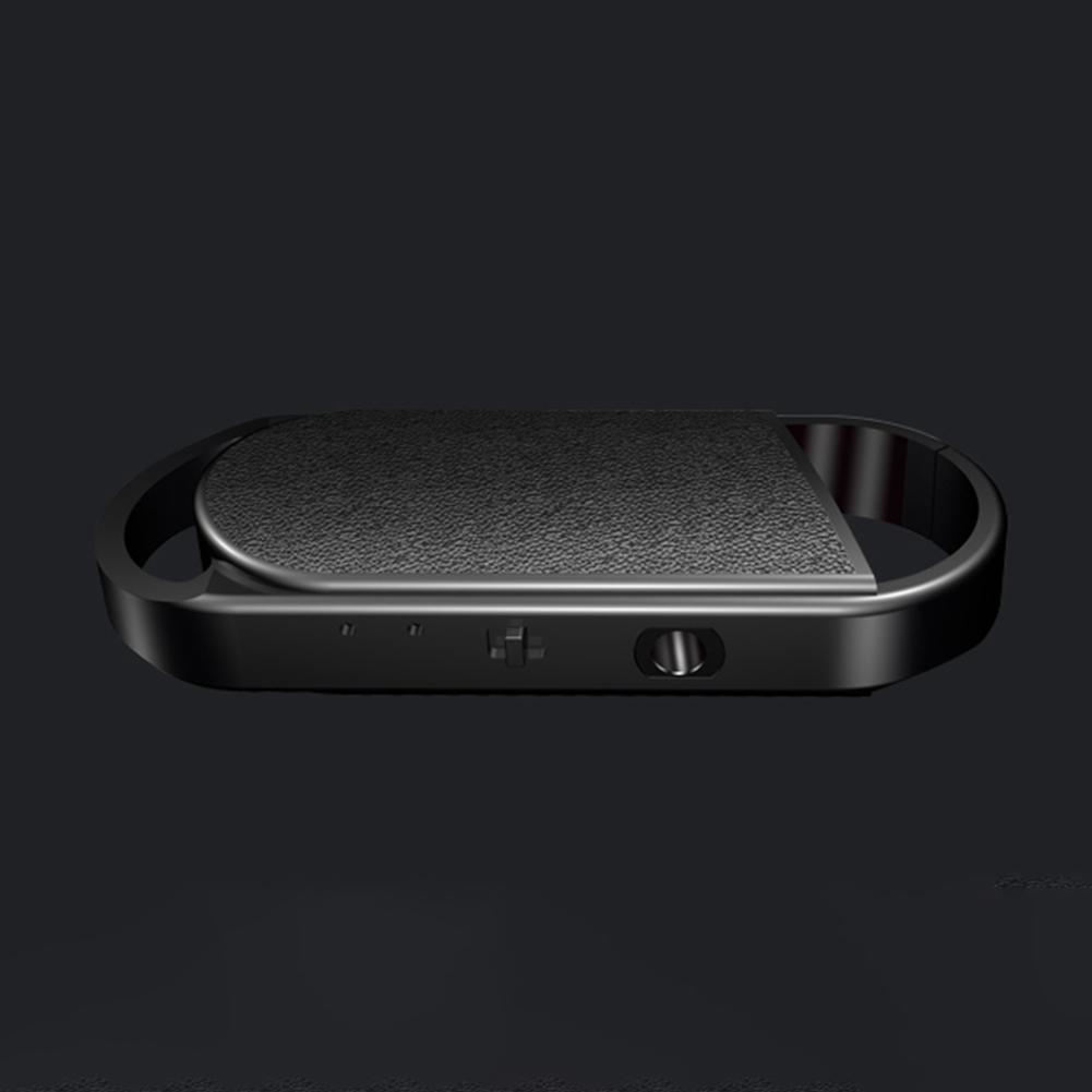 SK008 Mini Smart Keychain Voice Recorder Capacity 16GB (Black)