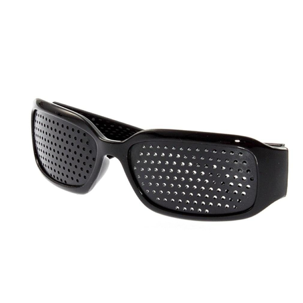 Black Eyesight Improvement Vision Care Exercise Eyewear Glasses Train Healing Eyewear